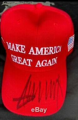 Donald Trump 2020 Signé Maga Hat Nouveau Avec La Taille Des T-shirts Let Freedom Ring XL