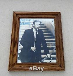 Donald Trump 8x10 Photo Autographiée Acheté En 1991 Vente Aux Enchères Caritative