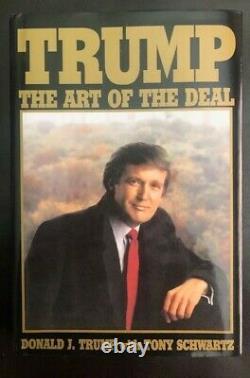 Donald Trump A Signé Art Of The Deal