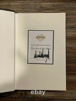 Donald Trump A Signé L'art De L'accord