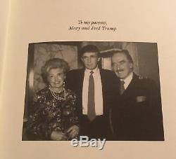 Donald Trump A Signé L'autographe En Cuir Easton Press Comment S'engager Rich Président