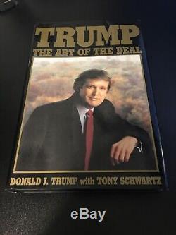 Donald Trump Art Du Deal, 2016 Élection, Certifié Signé Autographié