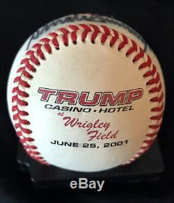 Donald Trump Authentique Signé Baseball! Psa / Adn Loa Meilleur Prix Sur Ebay