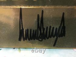Donald Trump Autograph Trump Store Gift Bag With Coa Hand Signed Certified