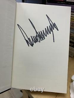 Donald Trump Autographed Livre Penser Gros Et Coup De Cul 1ère Édition