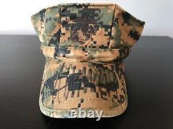 Donald Trump Autographié Marine Corps Hat Cap Jsa Authentification