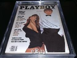 Donald Trump Autographié, Signé 1990 Playboy Magazine Bas Beckett Encapsulé