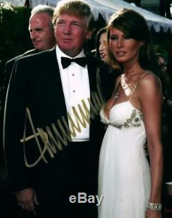 Donald Trump Autographié Signé 8x10 Photo + Coa