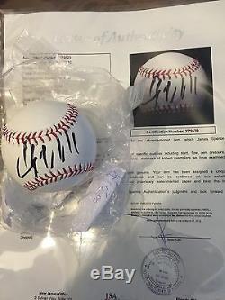 Donald Trump Billionaire Président Signée À La Main Autographié Roml Baseball Jsa Loa