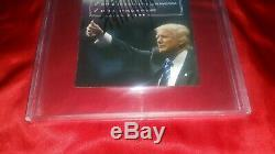Donald Trump Carte De Voter Signée Autograpée Signée Beckett Bas Loa Pas Psa Ou Jsa