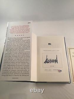 Donald Trump Crippled Amérique Du Livre Signé Psa Dna
