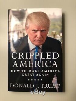 Donald Trump Crippled Amérique Signé