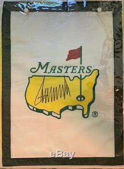 Donald Trump Flag Signé Master