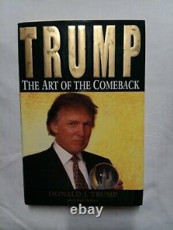 Donald Trump L'art Du Retour Signé 1er 1997