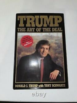 Donald Trump Livre Dédicacé L'art De L'affaire
