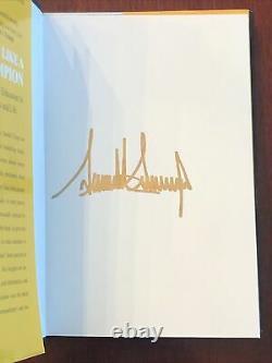 Donald Trump Pense Comme Un Champion Première Édition Autographié (encre D'or)