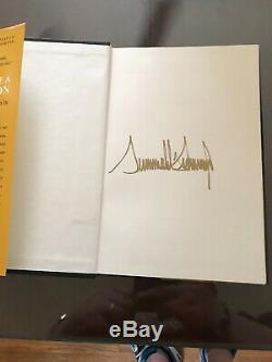 Donald Trump Pensez Comme Un Champion Signé Autographié Livre 1st Edition