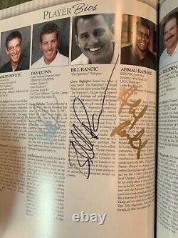 Donald Trump Peyton Manning And More Signed Autographed Golf Program Psa/dna Coa