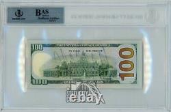 Donald Trump Potus Autographe 100 $ Bill Beckett Certified Authentic Currency