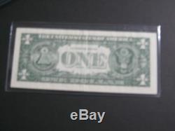 Donald Trump Président Des États-unis D'amérique Maga 1 Dollar Bill Signé / Dédicacé Potus Legend