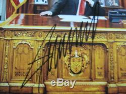 Donald Trump Président Des États-unis, Signé / Autographié, Photo 8x10 M. A. G. Un Potus Rare