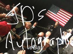Donald Trump Signé $ 1 Dollar Bill Devise 45ème Président Coa Proof