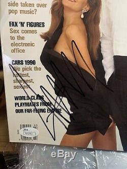 Donald Trump Signé 1990 Playboy Magazine 2016 Républicain Président Jsa Auth