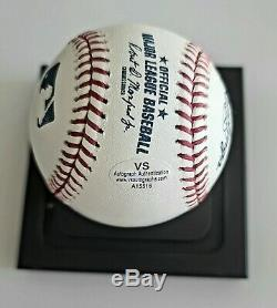 Donald Trump Signé À La Main Autographié Romlb Baseball Avec Coa + 10 Coins Collector