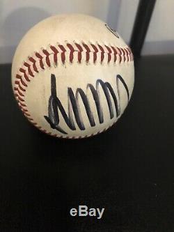 Donald Trump Signé Autographed Baseball Rawlings Etats-unis Président