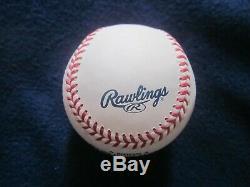 Donald Trump Signé Autographed Baseball Rawlings Romlb USA Président # 45 Auto