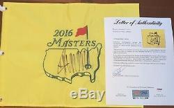 Donald Trump Signé Autographié 2016 Master Flag Psa Loa