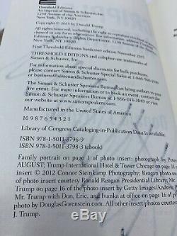 Donald Trump Signé Autographié Crippled America Livre À Couverture Rigide Président Jsa