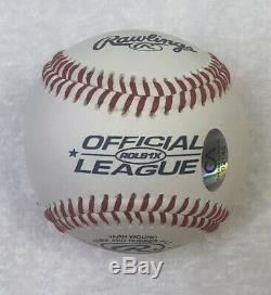 Donald Trump Signé Autographié Officiel De La Ligue De Base-ball Avec Coa