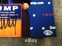Donald Trump Signé Autographié Photo 8x10 Président USA