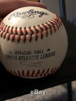 Donald Trump Signé Baseball Rawlings