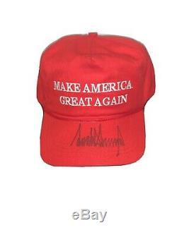 Donald Trump Signé Maga Hat 2016