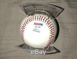 Donald Trump Signé Offical Mlb Baseball Avec Coa / Psa Authenticated
