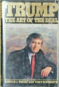 Donald Trump Signé Trump L'art De La Transaction 1ère Édition Du Livre Jsa Authentifié