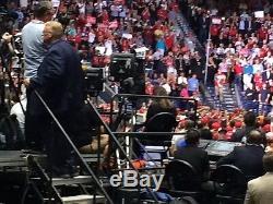 Donald Trump Signée À La Main 8 X 10 Photo Encadrée Authentique, Avoir Une Preuve Photo De Signature