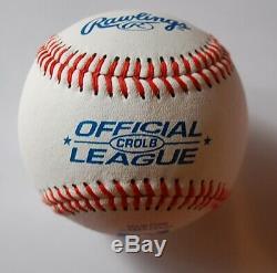 Donald Trump Signée À La Main Autographed Baseball Avec Coa