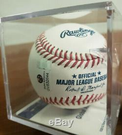 Donald Trump Signée À La Main Autographed Baseball Avec Ga Certifié Coa