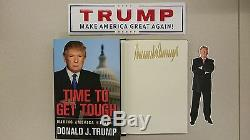 Donald Trump Time To Durcir Bundle Hc Dj Gop Présidentielle Amérique 2016 Livre