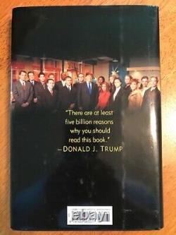 Donald Trump Trump Comment Obtenir Rich 1ère Édition Livre Signé