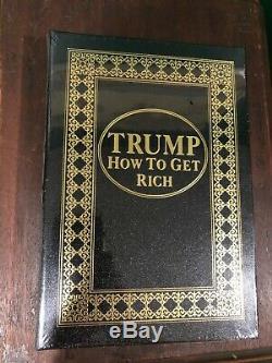 Easton Press Comment Devenir Riche Par Le Président Donald Trump Signature Edition Limitée