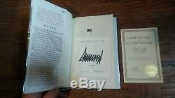 Edition Signée Président Donald Trump Autographié Livre Crippled America