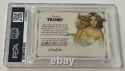 Ivanka Trump Président Apprentice Signé Cut Auto Card 1/1 Psa/dna Slab