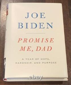 Joe Biden A Signé Promet Me Dad Book Jsa 2020 Président Nomee Obama Trump Rare