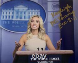 Kayleigh Mcenany Signé 8x10 Photo Trump Presse Secrétaire Autographique Authentique Coa