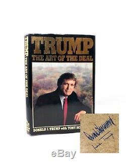 L'art De La Transaction Donald Trump + Ivana Trump Signé 1er Première Édition / 1er