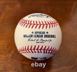 Le Président Donald J. Trump Fac-similé Signé 45 Baseball Presidential Seal